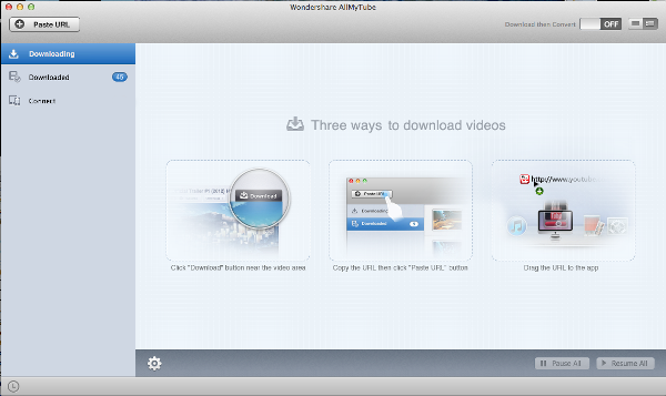 AllMyTube Downloader for Mac - Screenshot