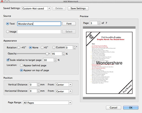 Edit PDF Bookmarks