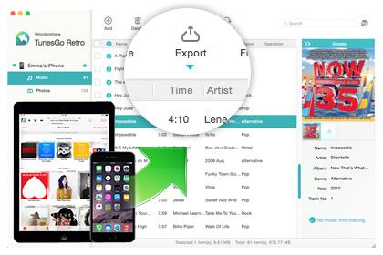 Передача музыки, видео и фото с iPhone, iPod touch и iPad на Mac