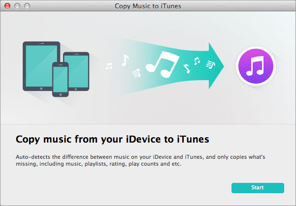 export iPad music to iTunes