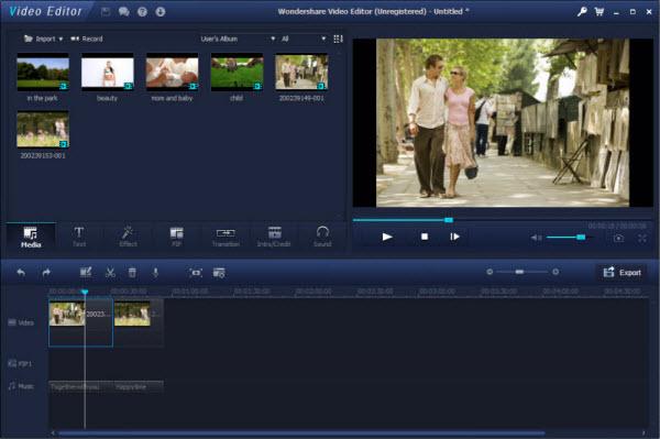 video editor - edit video