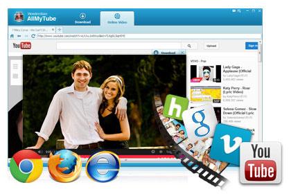 Загрузка видео с более 100 сайтов
