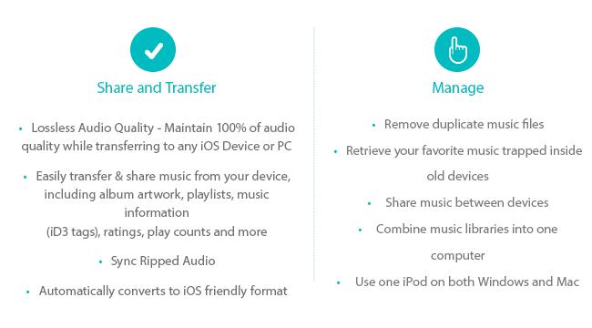 Делитесь и управляйте музыкальной коллекцией без ограничений iTunes